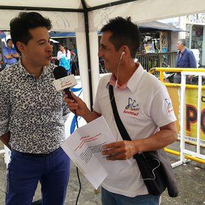 Alejandro Londoño, entrevista para la radio