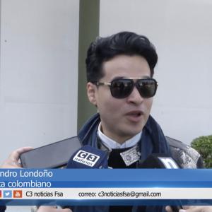 Entrevista Alejandro Londoño en Argentina